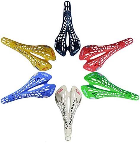 Dajse Super Light Plastic Agents Agents Vertu Selle De V/élo Mountain Saddle Seat 6 Couleurs PVC Coussin Sillin Bicicleta