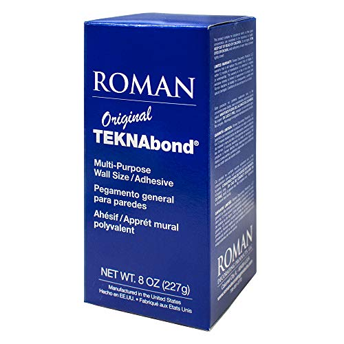 (ROMAN 015398 Teknabond 8 oz. Wall Size/Adhesive)