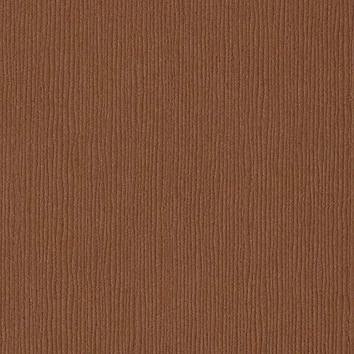 Bazzill Cinnamon Stick 12x12 Textured Cardstock | 80 lb Light Brown Scrapbook Paper | Premium Card Making and Paper Crafting Supplies | 25 Sheets per Pack -