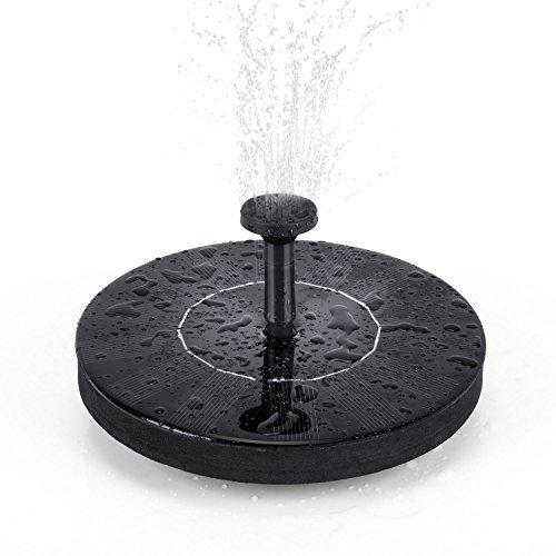 Review Solar Fountain Pump, Free