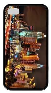 case online Las Vegas Night TPU Black Case for iphone 4/4S