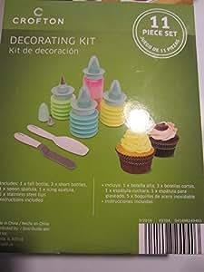 Amazon Com Crofton Decorating Kit 11 Piece Set By