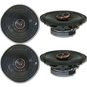 "4 x Infinity REF-6522ix 6.5-inch 2-way Car Audio Coaxial Speakers 6-1/2"" 6522ix"