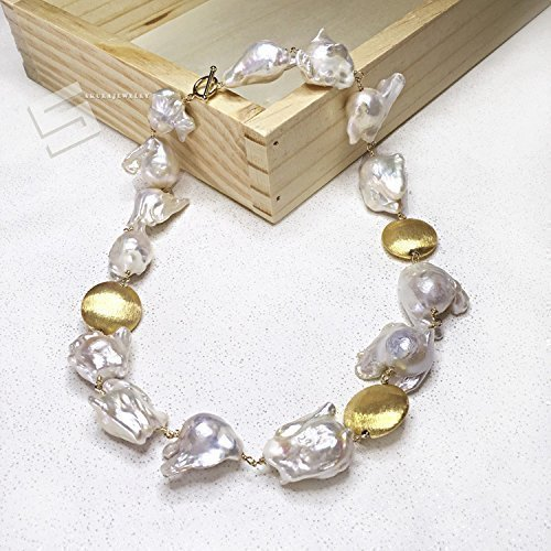 baroque loose freshwater detail wholesale buy pearls aaa drilled half product