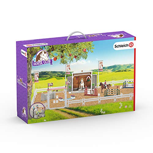 Schleich North America Big Horse Show with Riders & Horses Playset