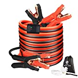 Jumper Cables, Heavy Duty Booster Cables 0 Gauge