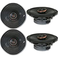 4 x Infinity REF-6522ix 6.5-inch 2-way Car Audio Coaxial Speakers 6-1/2 6522ix