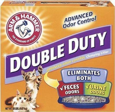 double duty advanced odor control