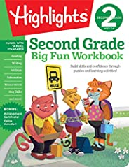 Second Grade Big Fun Workbook (Highlights™ Big Fun Activity Workbooks)