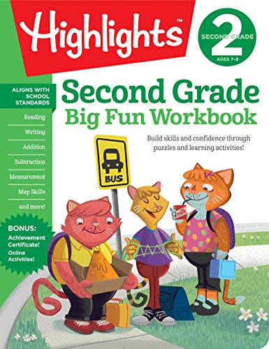 (The Big Fun Second Grade Workbook (Highlights™  Big Fun Activity Workbooks))