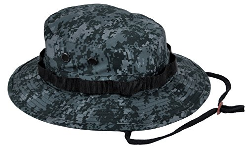 (Rothco Boonie Hat, Midnight Digital Camo - (7 3/4) Inch)