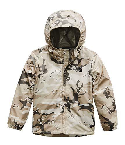 The North Face Toddler Novelty Flurry Wind Jacket, New Taupe Green Desert Youth Print, 6T ()