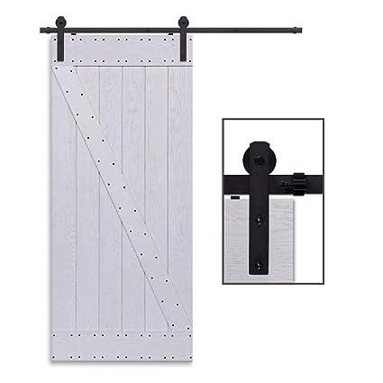CCJH 10FT-305cm Herraje para Puertas Kit de Accesorios para Puerta Correderas Juego de Armarios