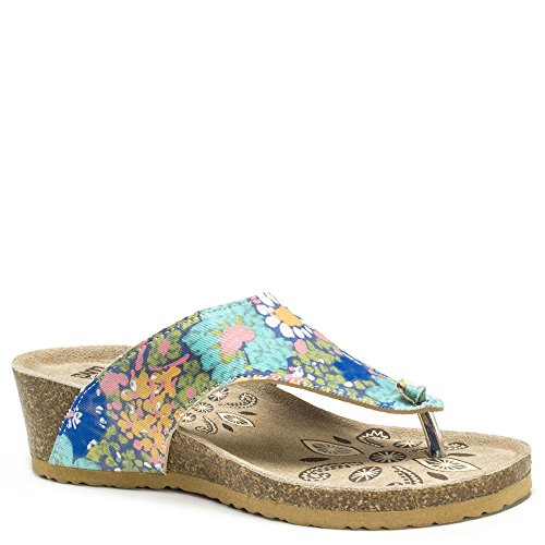 multi colored sandals - 6
