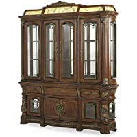AICO Villa Valencia Illuminated Buffet & China Hutch 72005/6-55