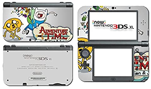 Adventure Time Jake Finn Video Game Vinyl Decal Skin Sticker Cover for the New Nintendo 3DS XL LL 2015 System (Jake Wii)