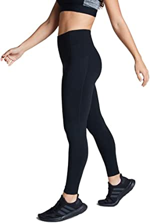 Rockwear Activewear Women's Fl Perforated Pocket Tight Black 6 from Size 4-18 for Full Length High Bottoms Leggings + Yoga Pants+ Yoga Tights
