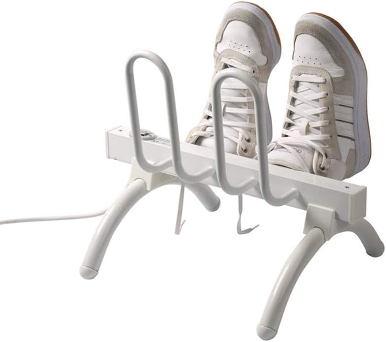 FEGER Secadora Zapato Rack, Electro-térmica en seco Zapatero silencioso Casi Secador de Botas de Humedad removedor Deshumidificadores,Amarican110V