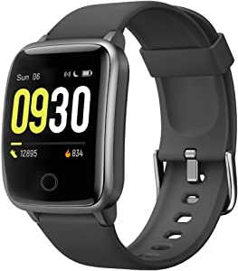 Willful Smart Watch for Men Women 2020 Version IP68 Waterproof, Fitness Tracker Heart Rate Monitor Sport Digital Watch, Smartwatch for Android Phones and iOS Phones Compatible iPhone Samsung