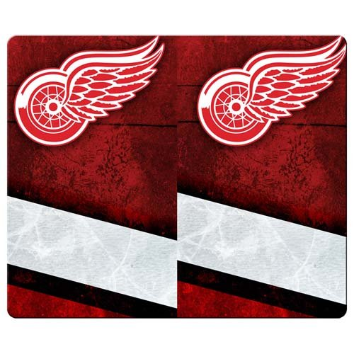 26x21cm 10x8inch Game mousemats cloth - rubber accurate Excellent for All Mouse Types detroit redwings
