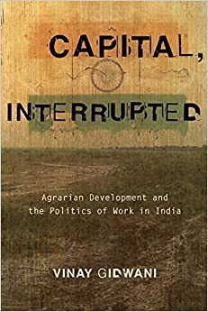 Capital, Interrupted: Agrarian Development and the Politics of Work in India by Vinay Gidwani (2008-03-31)