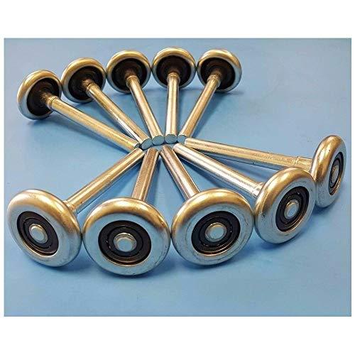 Havilah7 Garage Door Roller Ball Wheel Kit Wheels Replacement Equipment 2
