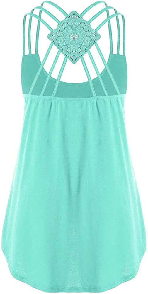 Kekebest Womens Plus Size Boho Tank Tops Stitch Pullovers Tunic Top Sale Casual Sleeveless Tee Shirt S-5XL Beach Covers