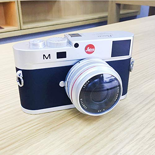 CAOMING Non-Working Dummy DSLR Camera Model Photo Studio Props for Leica M, Short Lens Durable (Color : Silver) by CAOMING