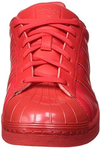 Einheitsgröße Basketball Chaussures Femme Rouge Glossy de adidas Superstar WxqUwTBpT8