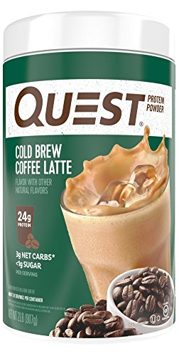 Quest Nutrition Protein Cold Brew Coffee Latte Powder, 32 Ounce by Quest Nutrition
