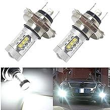 Nuokexin 2x80W 12V Xenon White H4 9003 HB2 CREE LED Hi/Lo Beam Headlight Driving Fog Lamp Bulb