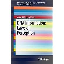 DNA Information: Laws of Perception (SpringerBriefs in Biochemistry and Molecular Biology)