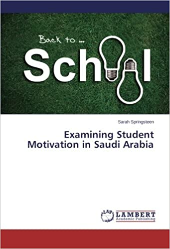 Book Examining Student Motivation in Saudi Arabia