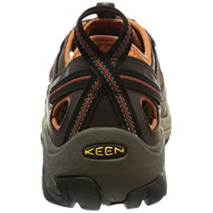 KEEN Men's Arroyo II Hiking Sandal,Black Olive/Bombay Brown,11 M US