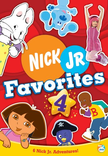 Nick Jr. Favorites - Vol. 4 (Lazytown Nick Jr)