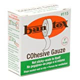 Bantex Cohesive Safety Finger Tape 1'' X 15 Yard Roll