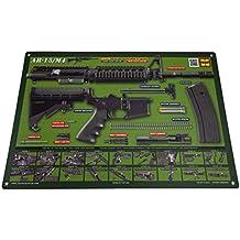 AR-15 M4 M16 Gun Cleaning Mat - OD Green – Tactical Atlas