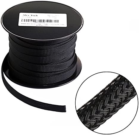100ft Expandable Braided Sleeving Sleeve product image