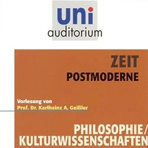 Zeit. Postmoderne Hörbuch