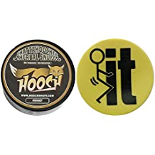 "Hooch Herbal Snuff or Chew - 1 Can - Includes DC Skin Can Cover (Whiskey Rough) (F""IT Skin)"