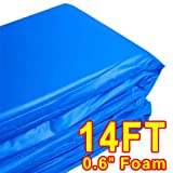 14' Trampoline Accessories Safety Frame Pad Blue