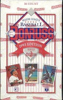 Amazoncom 1993 Donruss Series 2 Mlb Baseball Cards Unopened Box
