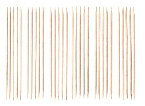 "Knit Picks 6"" Sunstruck Wood Double Pointed Knitting Needle - Hat Most Common Size"