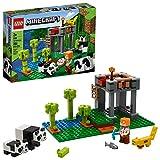 LEGO Minecraft 21158 El Criadero de Pandas (204 piezas)