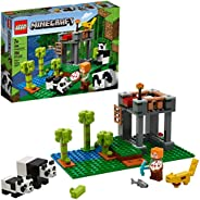 LEGO Minecraft The Panda Nursery 21158 Construction Toy for Kids, Great Gift for Fans of Minecraft and Pandas,