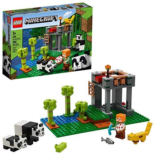 LEGO Minecraft בית חולים פנדה 21158 (new 2020)