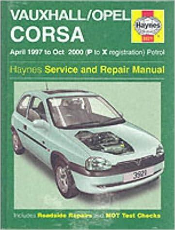 repair manual opel corsa b