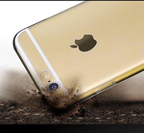 Funda iPhone 7 Case Clear Sunroyal® Premium TPU Carcasa Impresión Suave Ultra Slim / Resistente a los Arañazos Flexible Bumper Transparent Case Cover [Ultra-delgado] [Shock-Absorción] [Anti-Arañazos]  Foto01