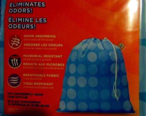 Tide Odor Eliminating Laundry Travel Bag - 2 Bags
