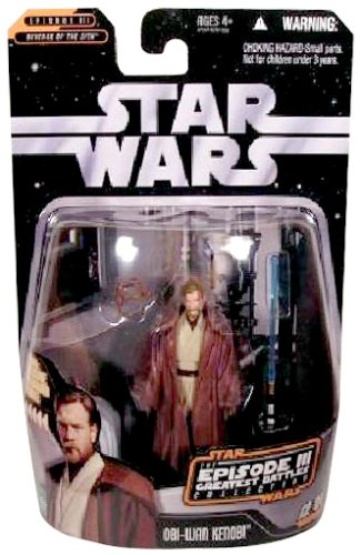 Hasbro Star Wars The Episode 3 Greatest Battles Collection 12 of 14 OBI-Wan Kenobi ()